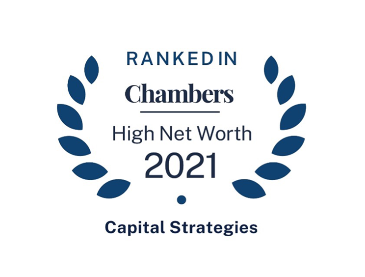 Chambers High Net Worth Guide Ranks Capital Strategies